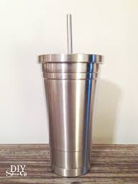 How To Decorate Stainless Steel Vinyl Decal Tutorial For Stainless Steel Tumbler For Essential