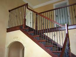 Stairway Banisters Ideas U0026 Design Black Stair Railing Design Interior Decoration