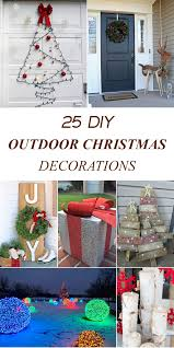Decorate Christmas Tree On A Budget by Amazing Diy Outdoor Christmas Decorations On A Budget