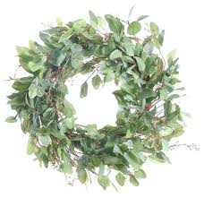 eucalyptus wreath magnolia eucalyptus wreath wreath clipart vector sumoglove