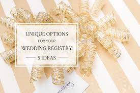 alternative wedding registry alternative wedding registry