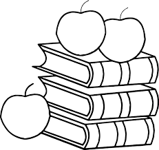 book apple 3rd grade coloring page wecoloringpage