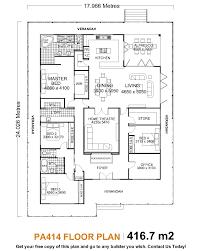 five bedroom floor plan innovation design single story house plans astonishing single
