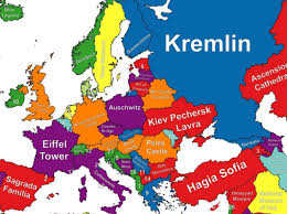 Travel Map Of Europe by News U0026 What U0027s On Map Reveals The Top Tourist Attraction In Every