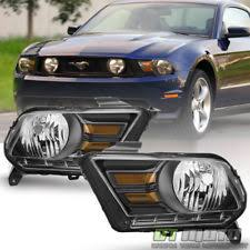 2010 ford mustang pony package ford mustang headlights ebay