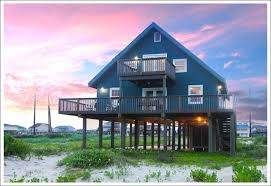 Beachfront Cottage Rental by Rent Galveston Beach House U2013 House Decor Ideas