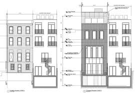 Row House Floor Plans Hdc Testimony For Lpc Hearing On June 2 2015 Historic Districts