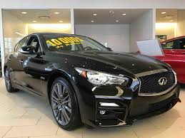 infiniti q50 used 2016 infiniti q50 400 red sport tech in quebec used