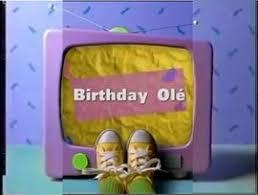 birthday olé barney wiki fandom powered by wikia