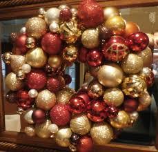 easy ornament wreath diy project