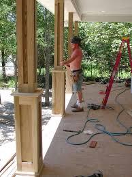 wood porch columns pilotproject org