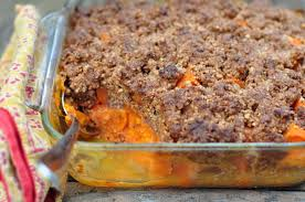 thanksgiving yams with marshmallows recipe nourishing meals yam casserole with pecan streusel topping