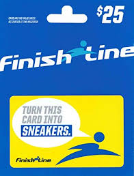 gift cards on line finish line gift card 25 gift cards