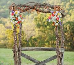 wedding flowers knoxville tn birch and floral arch in knoxville tn the flower pot