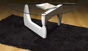 isamu noguchi style coffee table modena styled designer unique wood base coffee table in red black