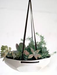 Hanging Ceramic Planter by 6 Unique Hanging Planters For Your Home