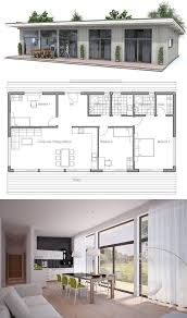 34 best two bedroom house plans images on pinterest architecture