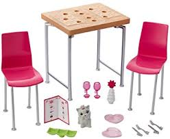 barbie dining room barbie kids dining table accessory set from debenhams size