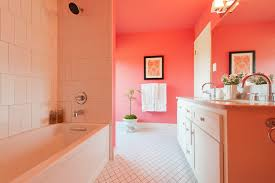 coral springs decorating ideas for bathroom contemporary design