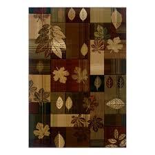 pine cone area rug rustic area rugs lowe u0027s canada