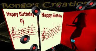 second life marketplace bc musical happy birthday dj card