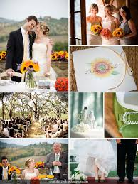 sunflower wedding ideas sunflower wedding ideas mospens studio