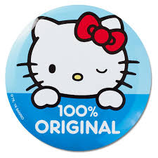 kitty 100 original large button costume accessories