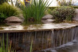 Small Backyard Ponds And Waterfalls by Water Feature Ideas For Santa Barbara Landscapes Waterfalls Ponds