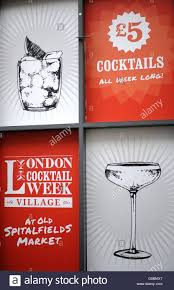 london cocktail week 2015 stock photo royalty free image