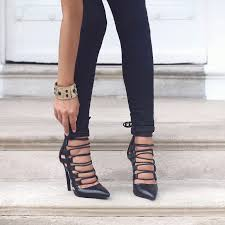 the luxe for less the lace up trend the daily luxe
