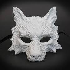 black and white masquerade mask s masquerade mask wolf animal masquerade mask white