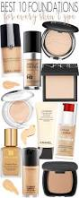 best 10 foundations for every skin type foundation makeup and