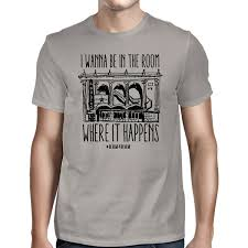 amazon com hamilton the musical in the room t shirt licensed