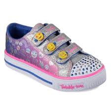 light up shoes for girls skechers twinkle toes shuffles expressionista emoji girls light up