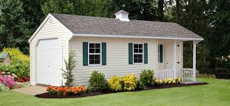 cottage style barns garages and pool houses by riehl quality