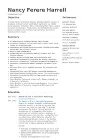 Resumes Examples For Teachers by High Teacher Resume Samples Visualcv Resume Samples Database