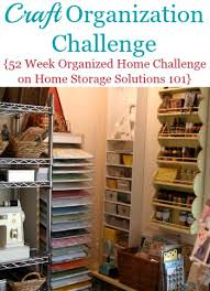 Storage Solutions For Craft Rooms - craft organization find your supplies when you need them