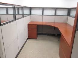 Knoll Reff Reception Desk with Knoll Reff Cubes W6108 Conklin Office Furniture