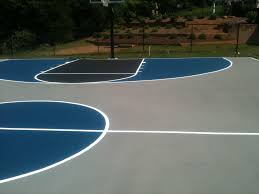 basketball court surfaces backyard basketball court las vegas nv