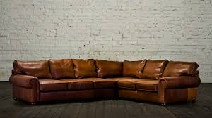 leather sectional quick view abbyson nizza hand rubbed leather