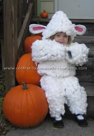 Lamb Halloween Costume Baby Sheep Costume Costumes Sheep Costumes Baby