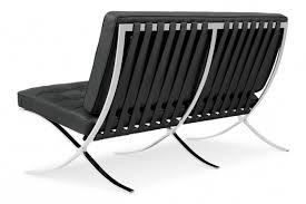 canapé barcelona 2 places fauteuil barcelona 2 places meubles design fauteuil design