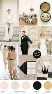 black and white wedding inspiration wedding colors