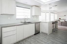 flat white wood kitchen cabinets flat panel style cabinet city kitchen and bath