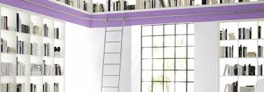 Rolling Ladder Bookcase by Library Ladders Modernstainlessladders Com