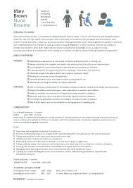 resumes for nurses template registered resume registered resume template nursing