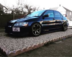 mitsubishi black cars matt bronze wheels black car mitsubishi lancer register forum