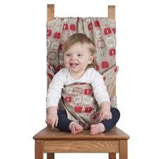 siege nomade bébé chaise de voyage bébé siège en tissu totseat pomme