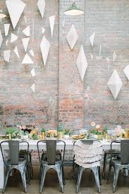 modern baby shower 20 cool geometric baby shower décor ideas shelterness