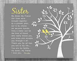 How To Ask Maid Of Honor Poem Maid Of Honor Sister Etsy